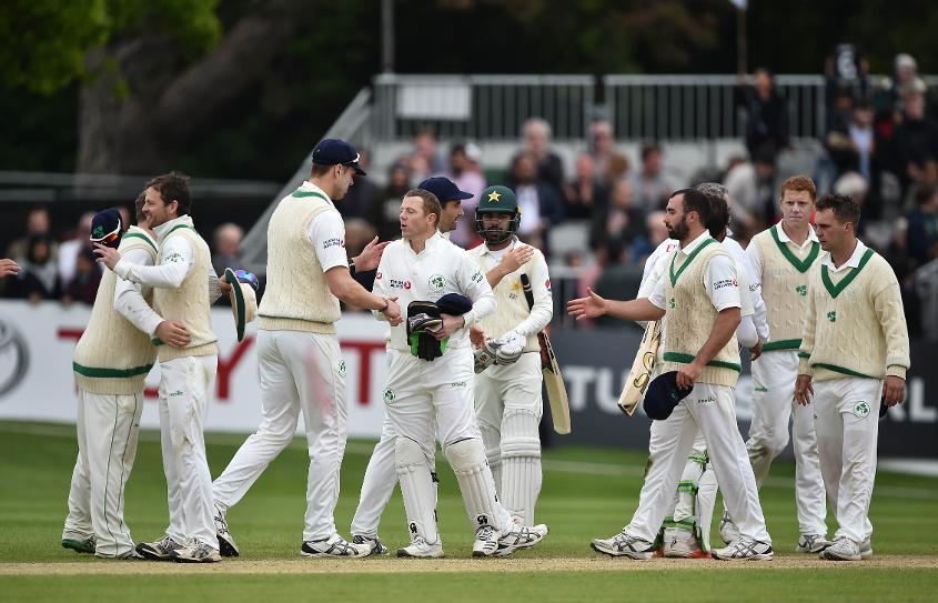 Ireland faced off against Pakistan last May in their first Test match