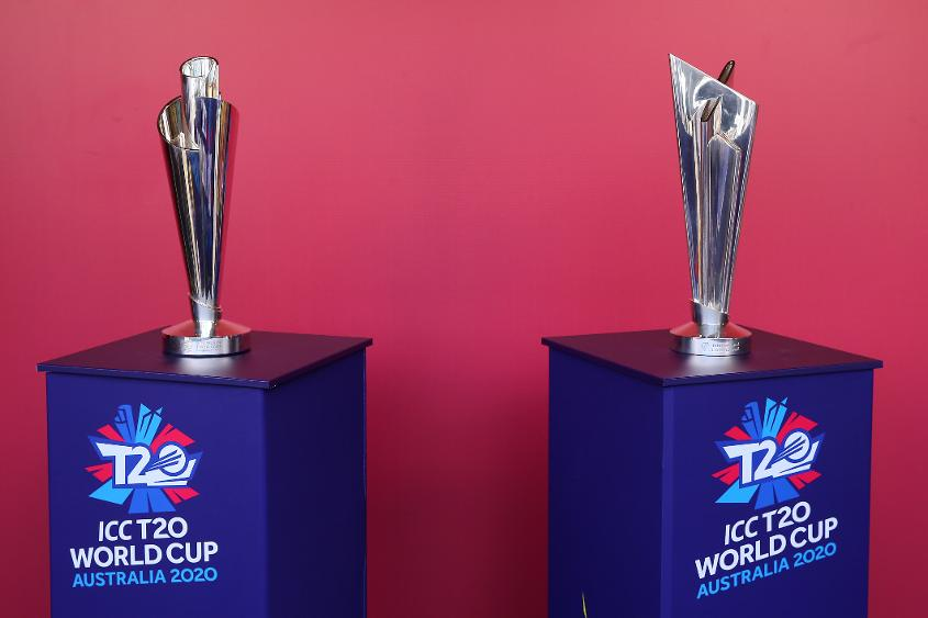 T20 World Cup trophies