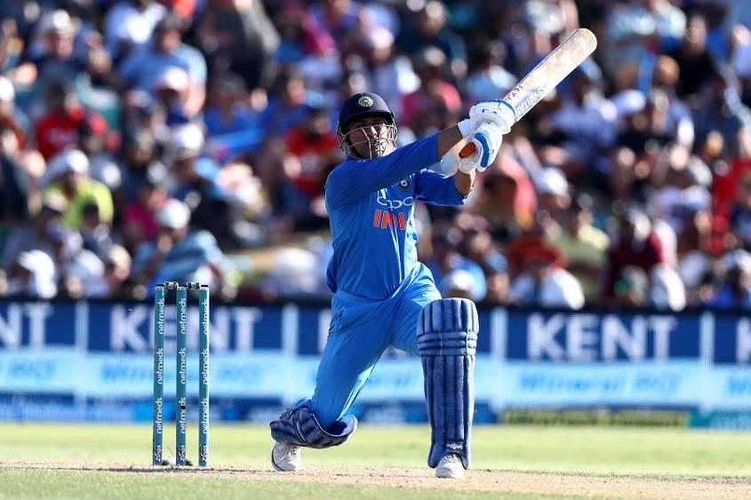 Dhoni notched 48* in his only innings of this series