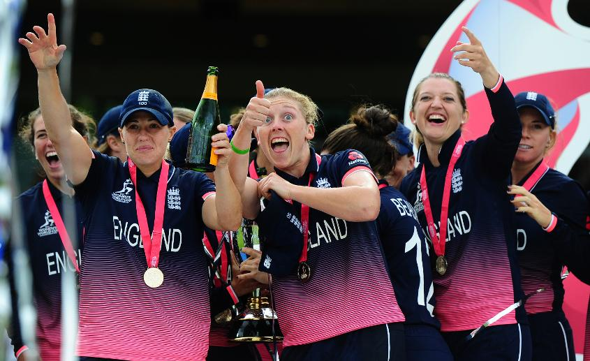 Brunt and Taylor helped England to glory at the 2017 ICC Women's Cricket World Cup