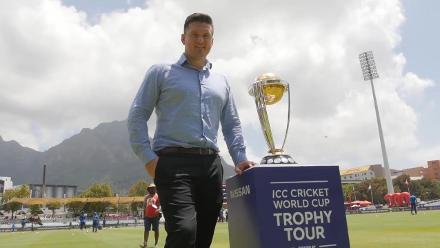 ICC #CWCTrophyTour driven by Nissan lands in Cape Town