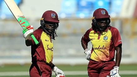Deandra Dottin top-scored for the Windies with 96