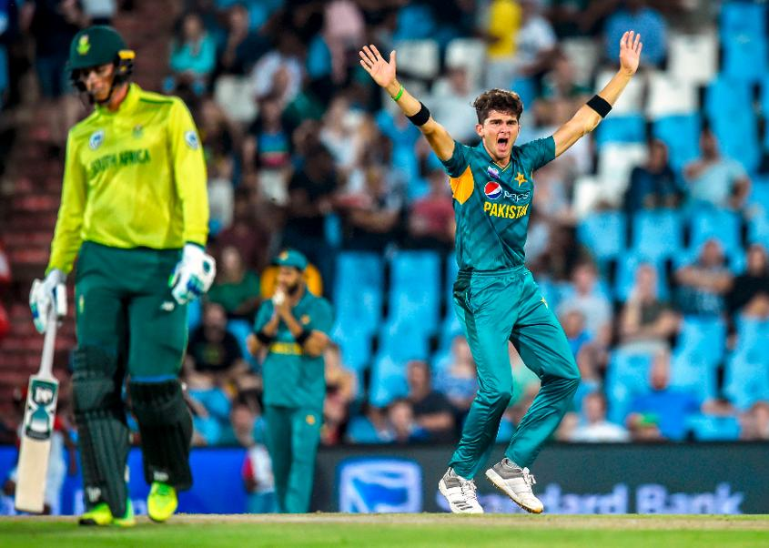 Shaheen Afridi has climbed into the top 50