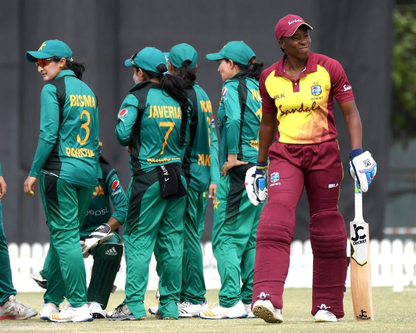 Pakistan triggered a collapse in the Windies ranks