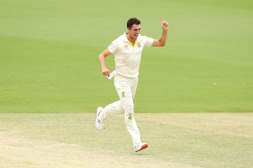 Cummins claimed 44 wickets for Australia across the voting period