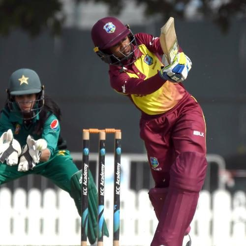 The Windies Women could only manage 159 runs after winning the toss and batting first