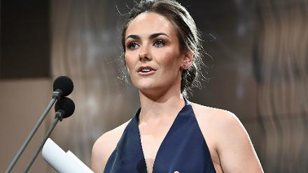 Heather Graham was named Australian Female Domestic Player of the Year