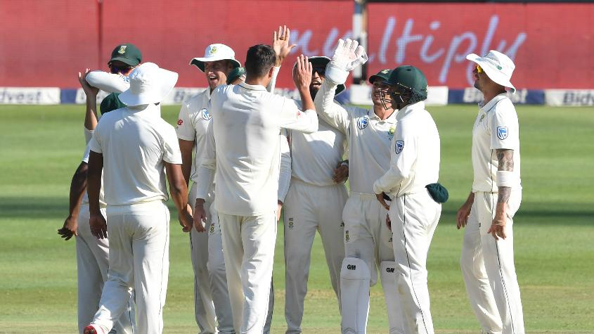 South Africa have beaten India, Australia and Pakistan in home Test series since January 2018