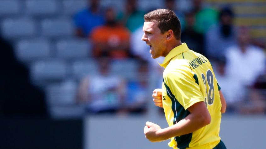 Hazlewood's injury is a blow for Australia