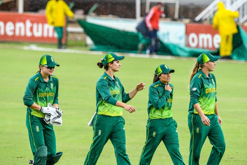 South Africa sealed the series with a game to play