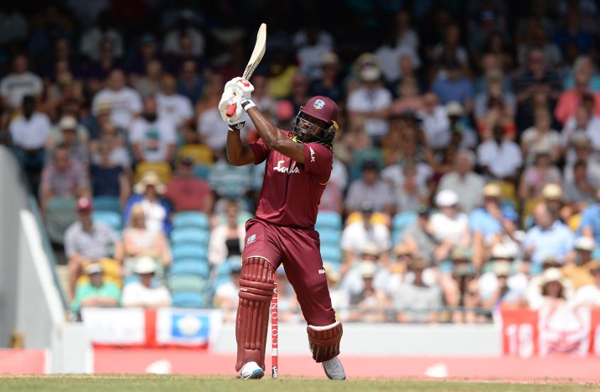 Chris Gayle has scored a century and a half-century in the series so far