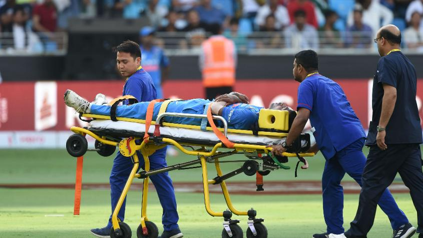 Pandya had to be stretchered off the field during the Asia Cup, and was diagnosed with 'acute lower back injury'