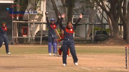 ICC Women's Asia Qualifier 2019: Hong Kong v Nepal – Nepal claim two wickets in two balls