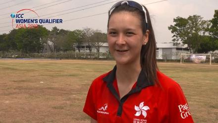 ICC Women's Asia Qualifier 2019: Nepal v Hong Kong – Toss and captains interviews