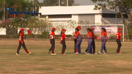 ICC Women's Asia Qualifier 2019: Nepal v Hong Kong – Full-match highlights