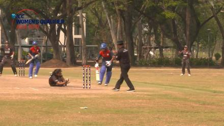 ICC Women's Asia Qualifier 2019: UAE's Esha Oza's brilliant caught and bowled against Thailand