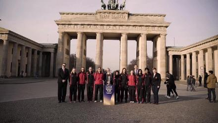 #CWCTrophyTour, driven by Nissan, visits Germany