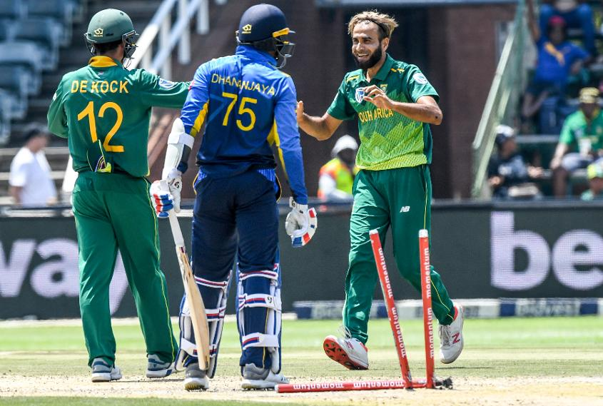 Imran Tahir is No.4 in the bowlers' rankings