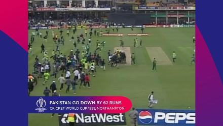 CWC Greatest Moments - Bangladesh defeat Pakistan in 1999
