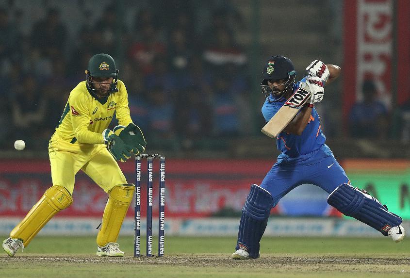 Kedhar Jadhav gave Australia a scare with his innings of 44