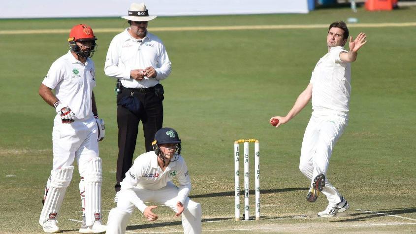 Tim Murtagh rescued Ireland with his maiden Test half-century batting at No.11
