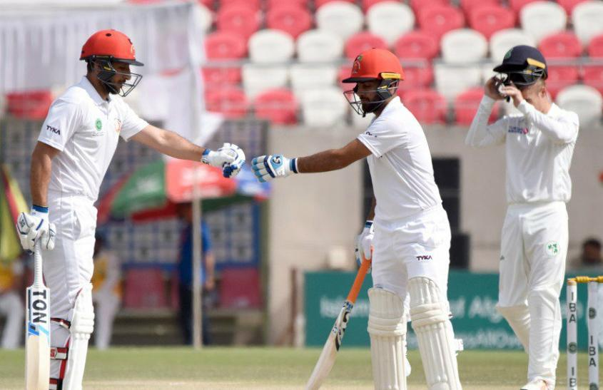 Rahmat Shah and Hashmatullah Shahidi added 130 runs for the third wicket