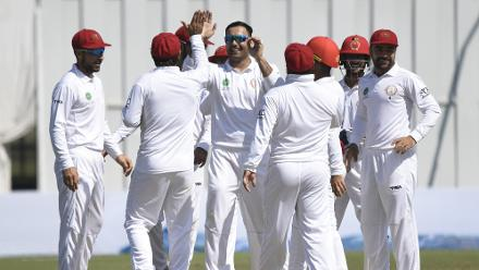 In pics: Afghanistan's first win in Test cricket
