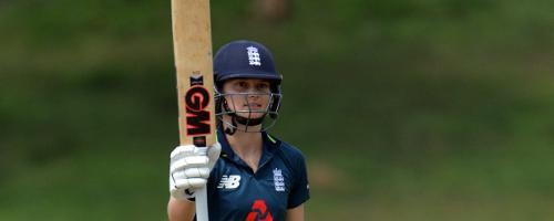 Amy Jones took England Women to a series-clinching victory against Sri Lanka
