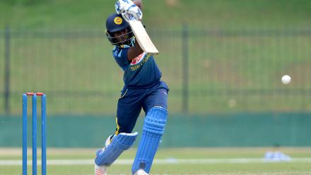 Sri Lanka notched up a total of 187/9 in 50 overs