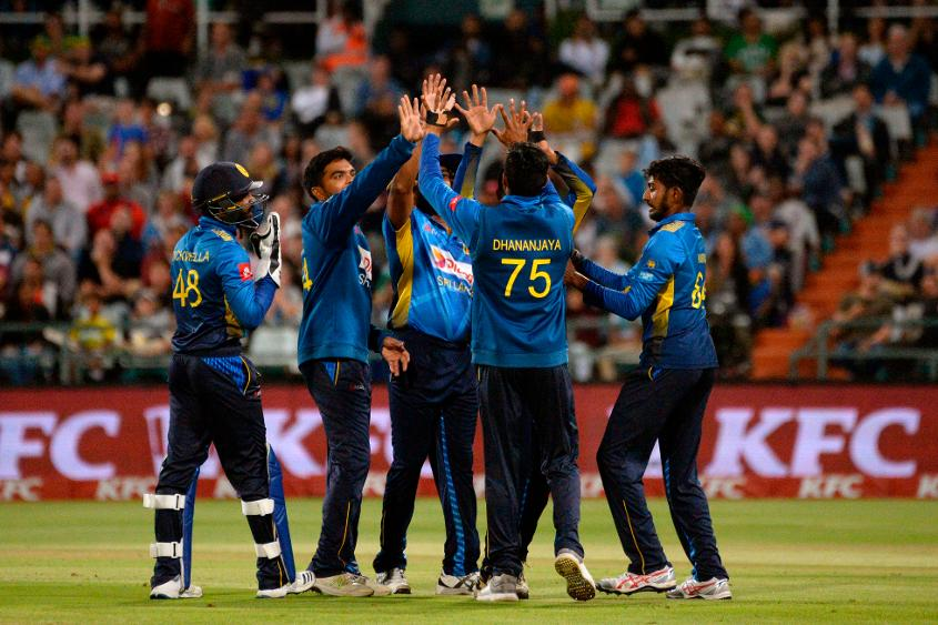 Sri Lanka bowled brilliantly at the death, with South Africa needing only 18 from their last four overs