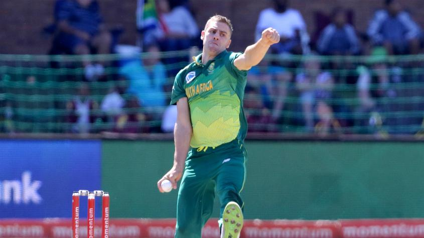 Nortje returns to the squad after missing CWC19 due to injury
