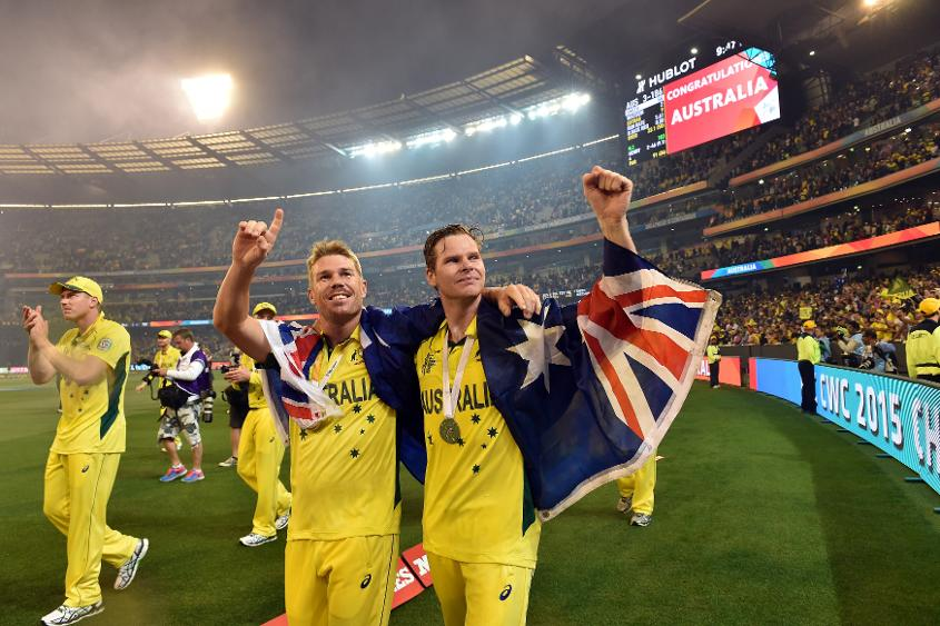 Smith and Warner won't have any game time in Australia colours until the World Cup
