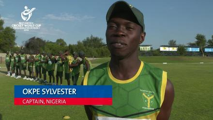 U19 CWC Africa Q: Sierra Leone v Nigeria – Toss and captain interviews
