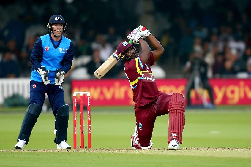 Andre Russell was at his explosive best