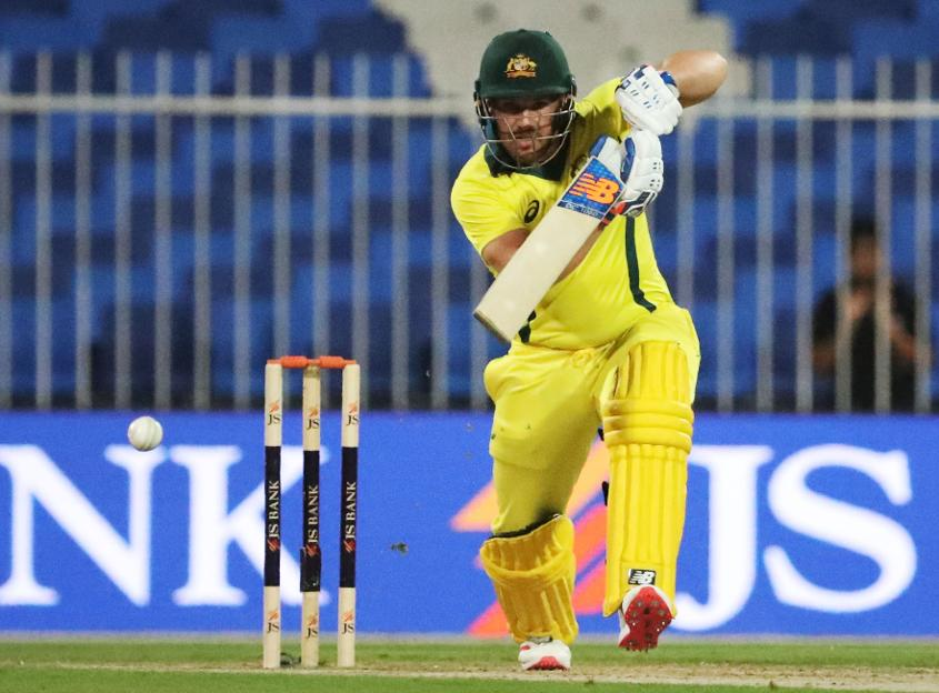 Aaron Finch's 153* - his highest ODI score - was equally destructive and composed.