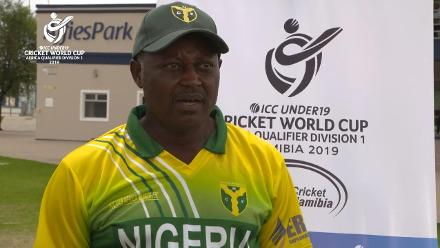 U19 CWC Africa Q: Sierra Leone v Nigeria: Reaction from Nigeria Cricket Federation president Adam Yahaya Ukwenya