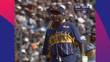 CWC Greatest Moments: Aravinda de Silva dismantles India in 1996 semi-final