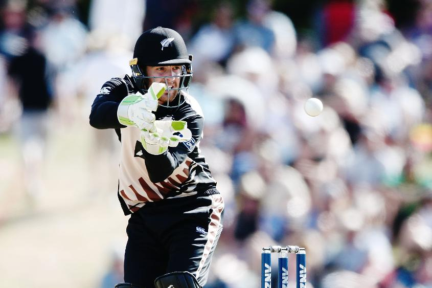Blundell has played two Tests and three T20Is for New Zealand