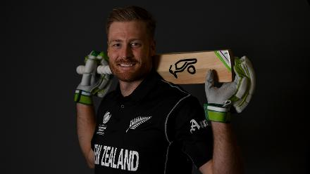 Martin Guptill: Holds the record for the highest individual score in CWC with his 237* against West Indies in 2015