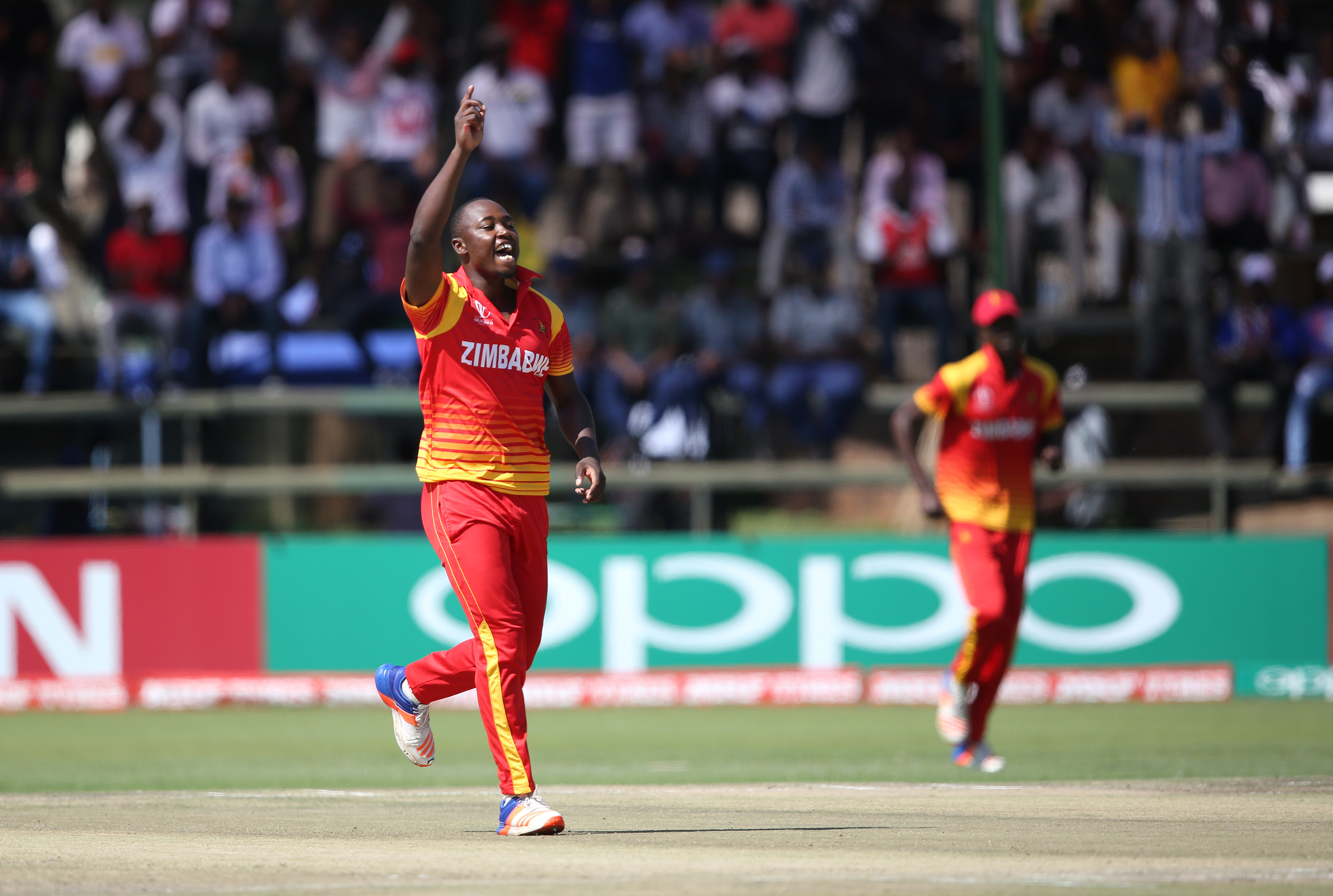 Chatara leads the way as Zimbabwe kick off series with seven-wicket win - International Cricket Council