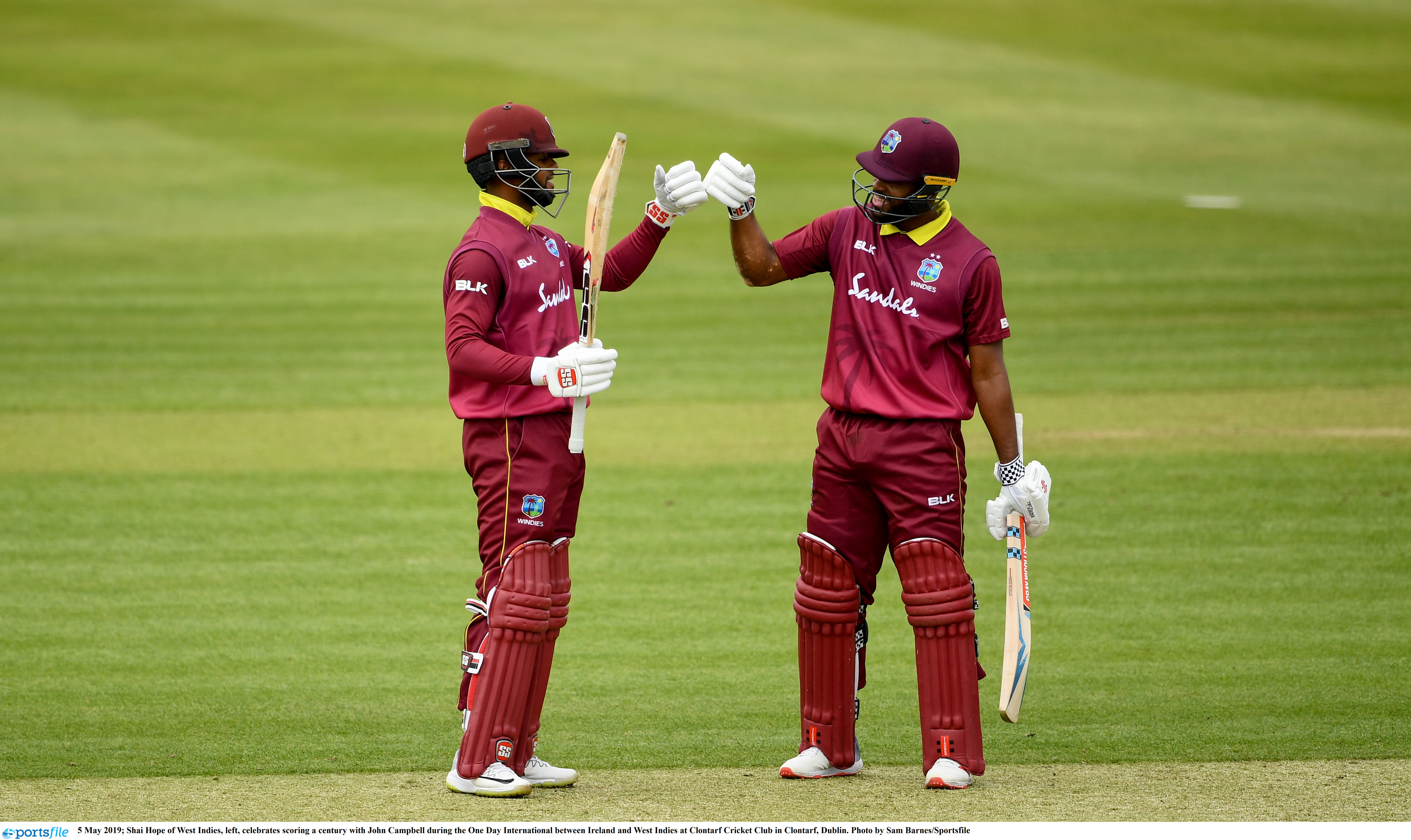 The records broken by Shai Hope and John Campbell