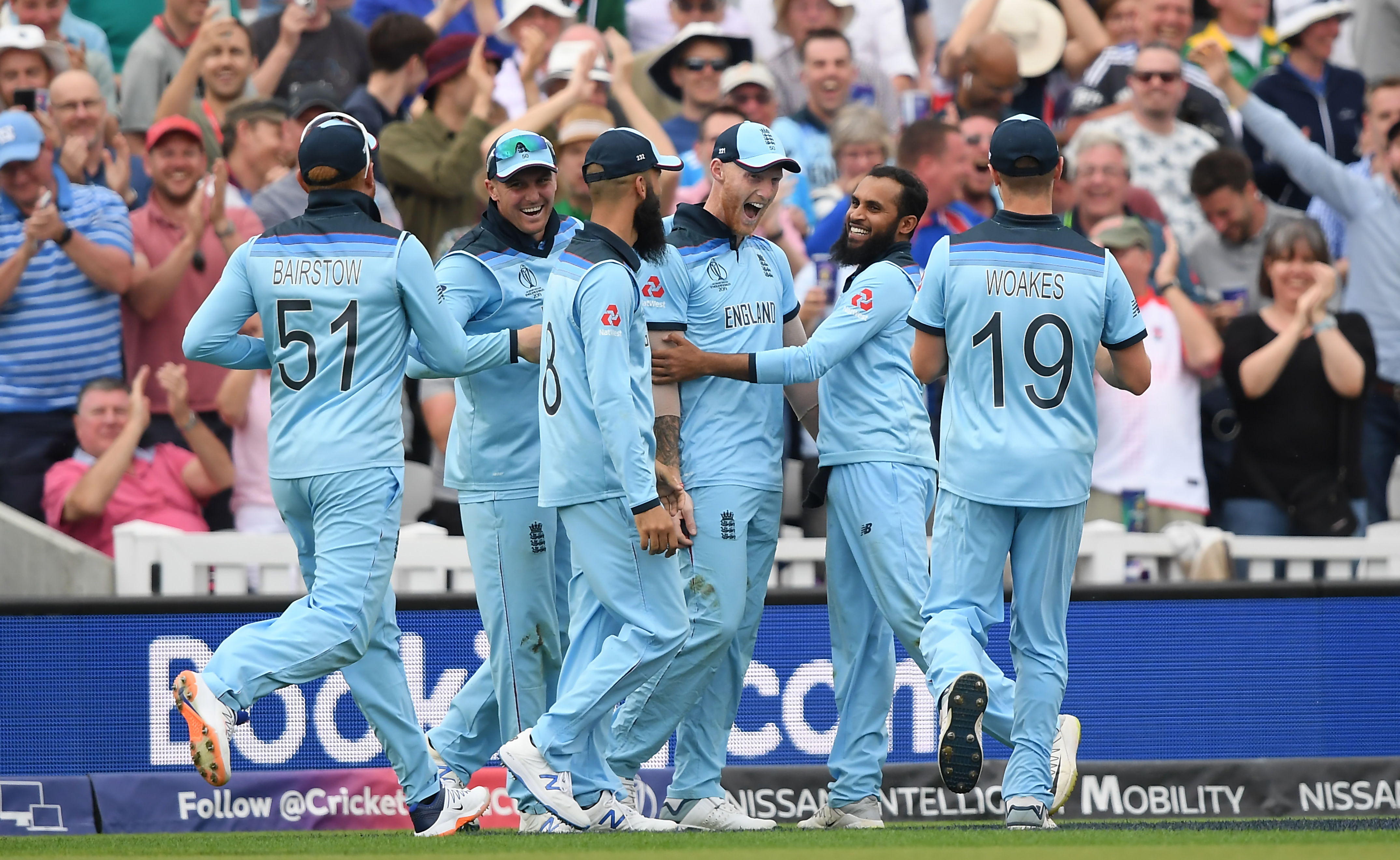 CWC19: Eng v SA – Stokes defies logic to grab a stunner in
