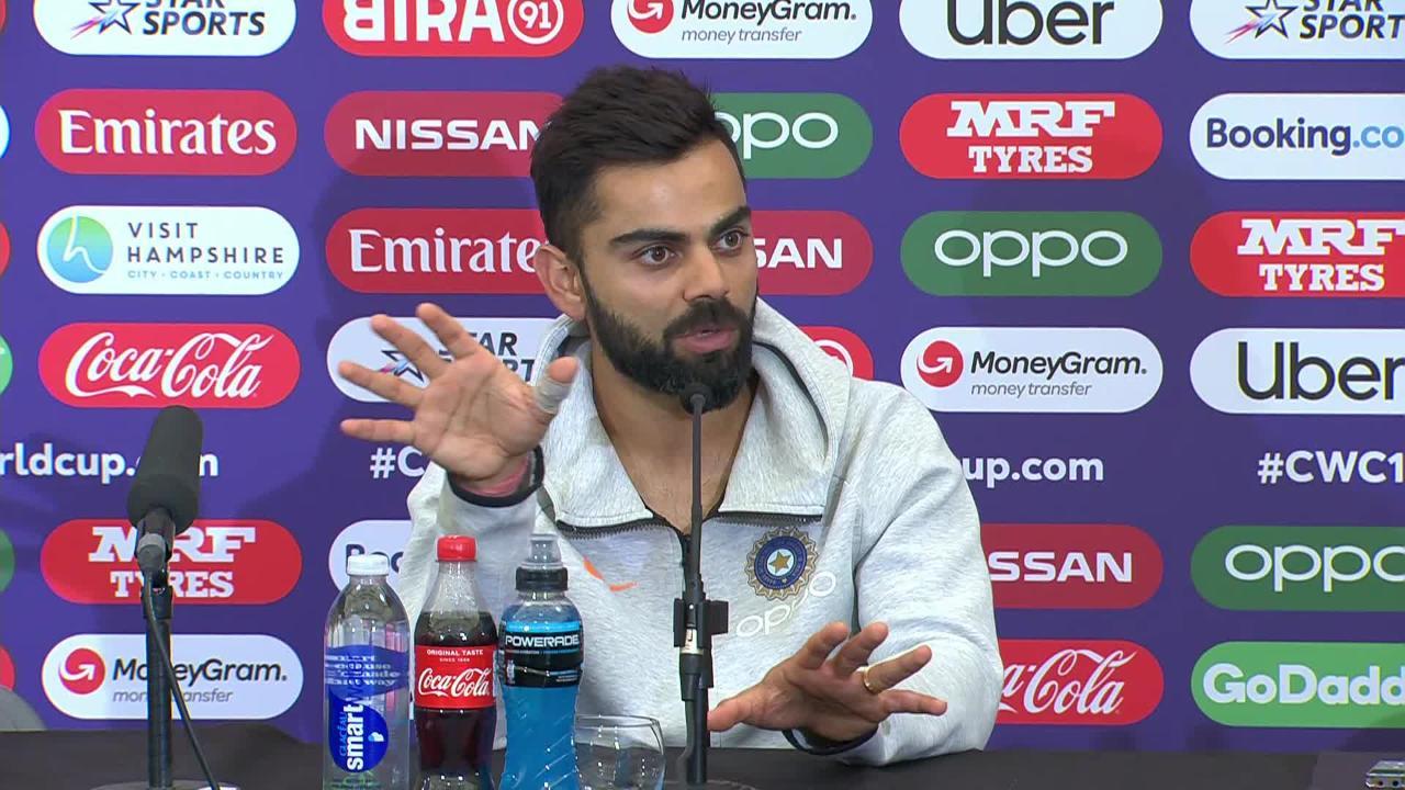 CWC19: SA v IND - Virat Kohli press conference
