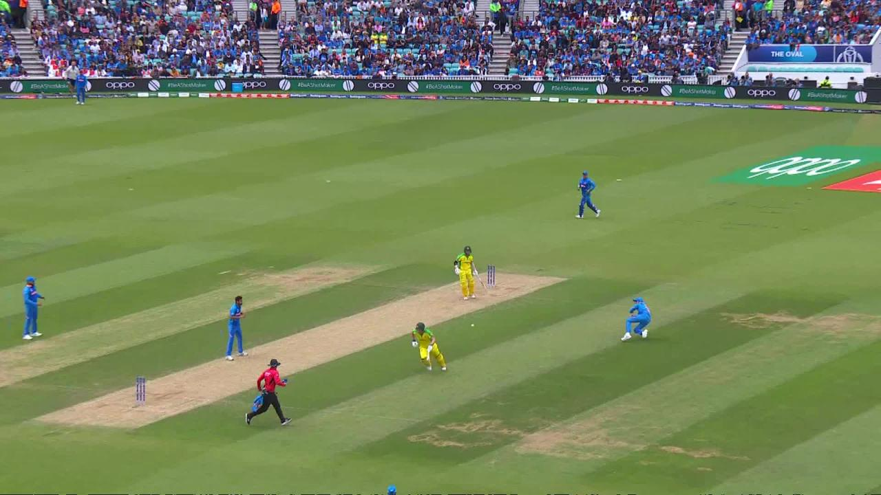 CWC19: IND v AUS - Some top fielding from both sides today