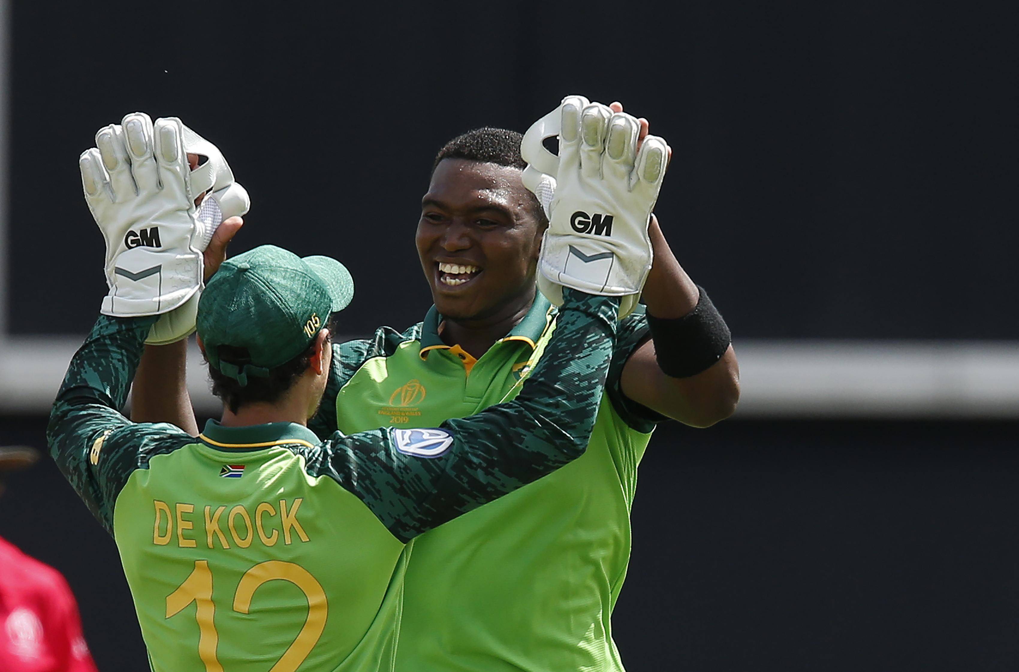 Lungi Ngidi passed fit for New Zealand clash