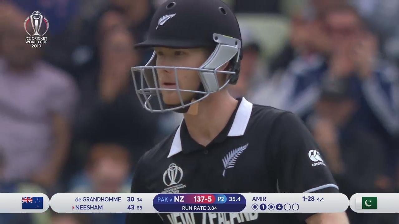 CWC19: NZ v PAK - Highlights of New Zealand's innings