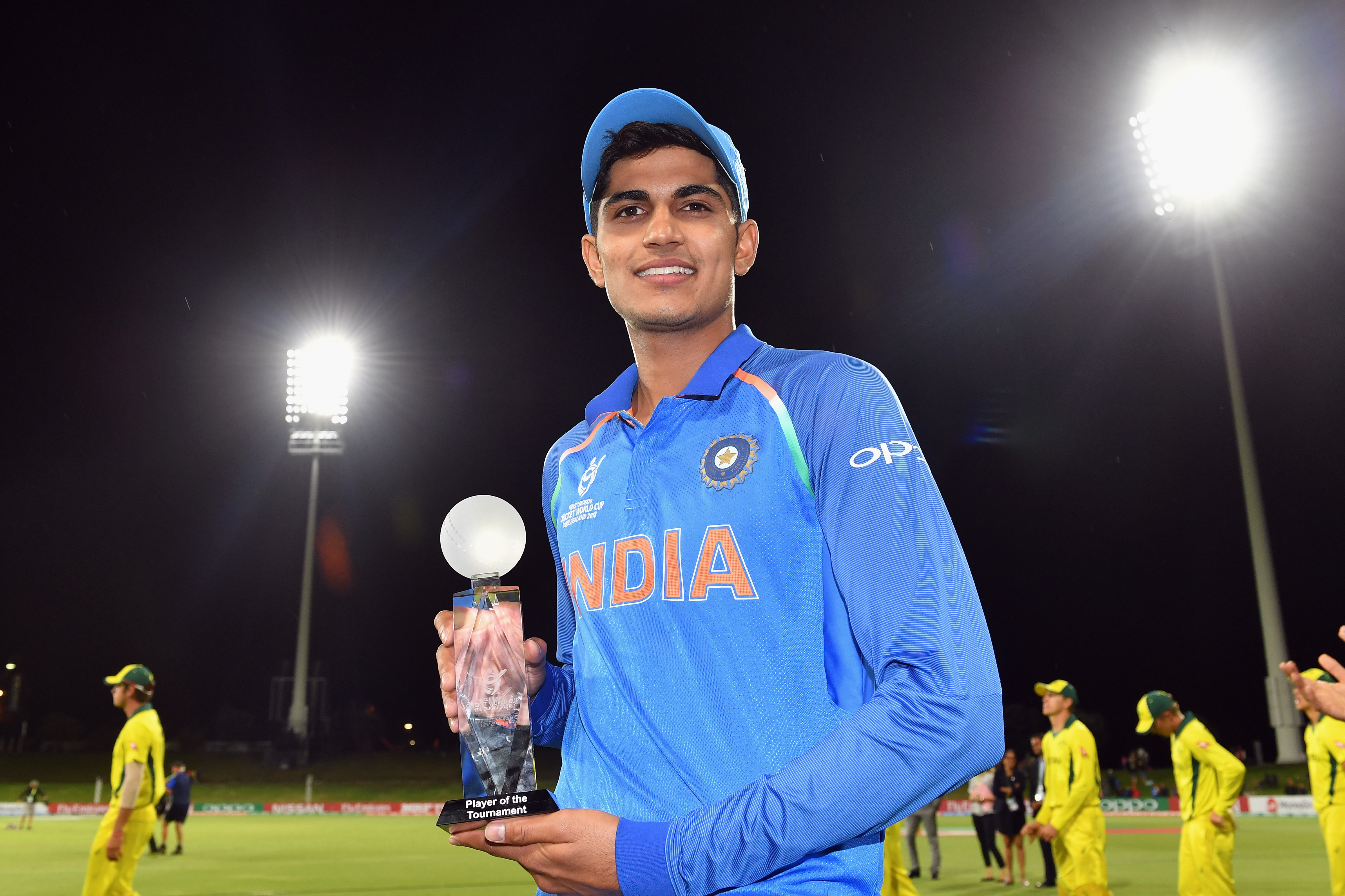 Shubman Gill becomes youngest to score first-class double ton for an Indian representative side