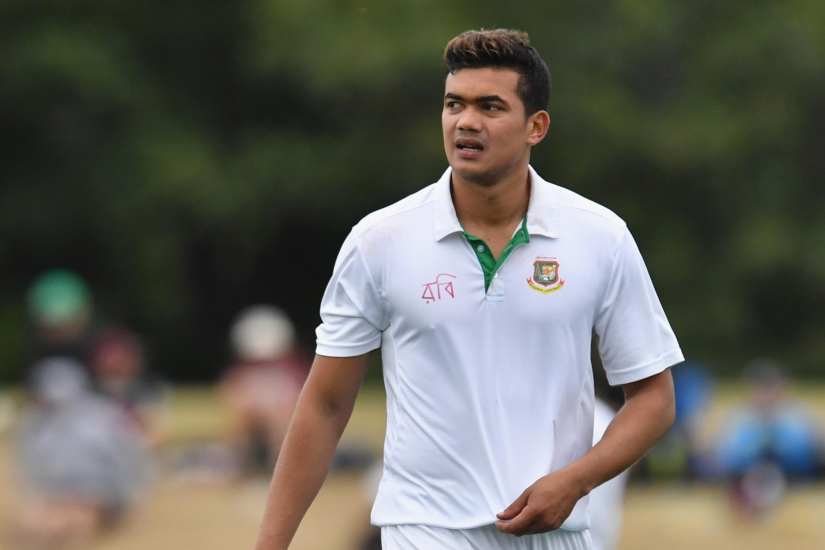 Taskin Ahmed named in Bangladesh squad for Afghanistan Test