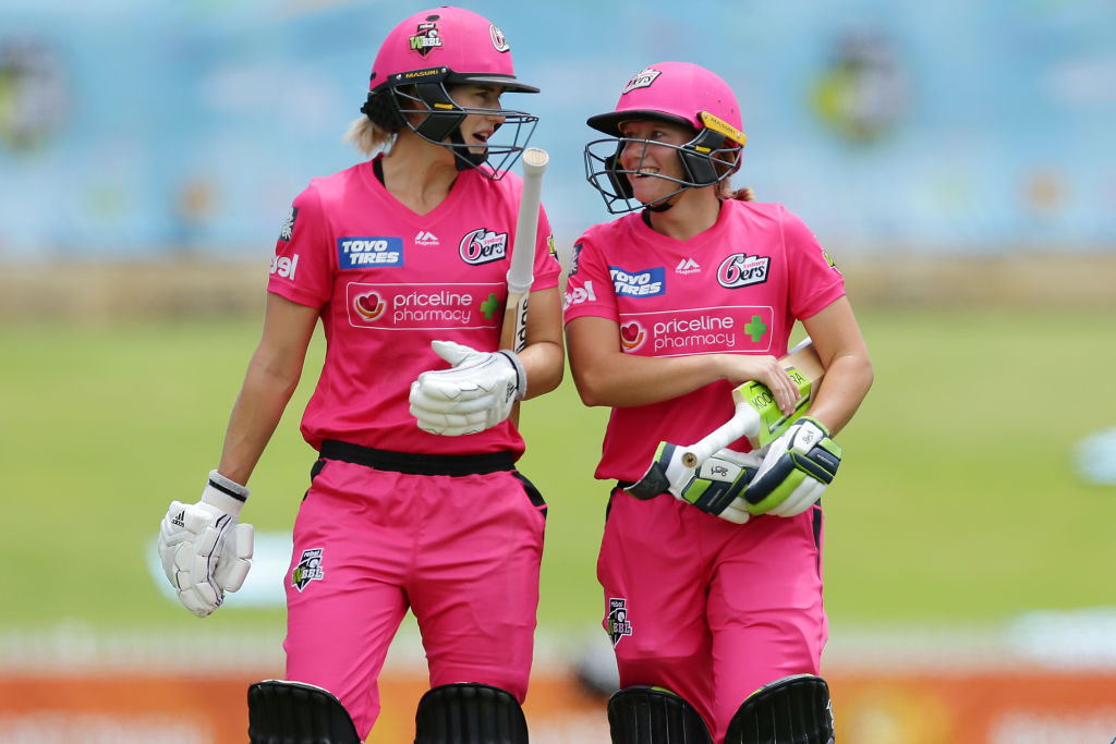 Ellyse Perry and Alyssa Healy set new WBBL record