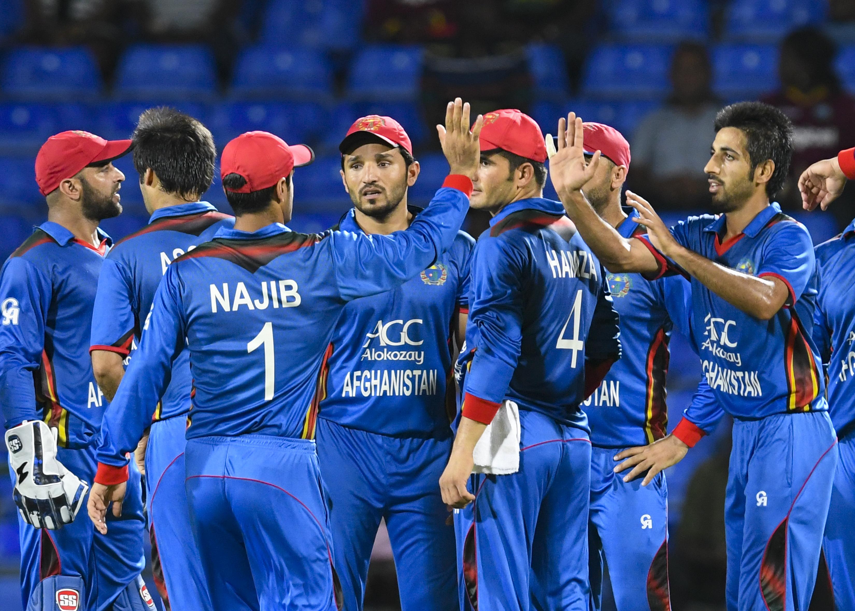 Afghanistan Cricket Team Zoom Background 5